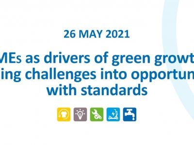 МСП како двигател на зелениот раст: Претворање на предизвиците во можности со употреба на стандарди