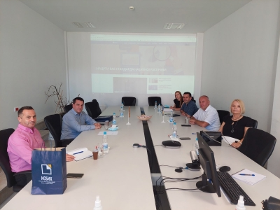 OFFICIAL WORKING VISIT OF ISRSM IN BOSNIA AND HERZEGOVINA